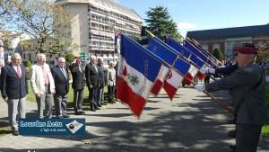 Lourdes : Cérémonie commémorative du centième anniversaire de la visite du Maréchal Foch