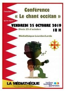 Médiathèque : conférence «le chant occitan»
