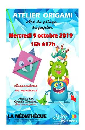 Read more about the article Médiathèque : atelier origami