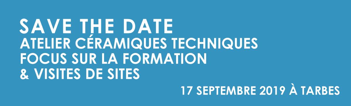 Le Pôle Européen de la et Céramique et la Communauté d'agglomération Tarbes-Lourdes-Pyrénées proposent un focus sur la formation et des visites sur sites le 17 septembre