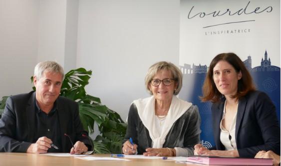 Lourdes : Action «Coeur de ville», Convention avec l'Établissement Public Foncier d'Occitanie