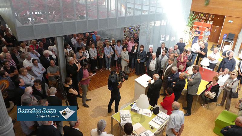 Lourdes : inauguration d'un Musée du FCL XV à la Médiathèque