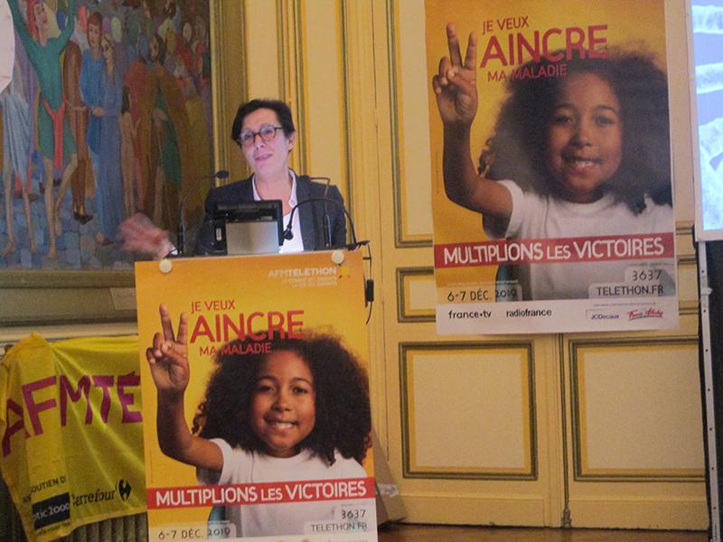 Hautes-Pyrénées : Conférence instructive et émouvante de la Présidente AFM-Téléthon