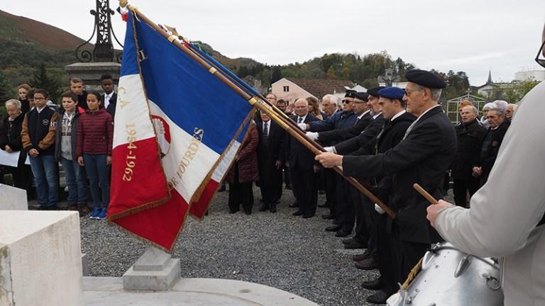 Lourdes : Belle Cérémonie du 11 Novembre