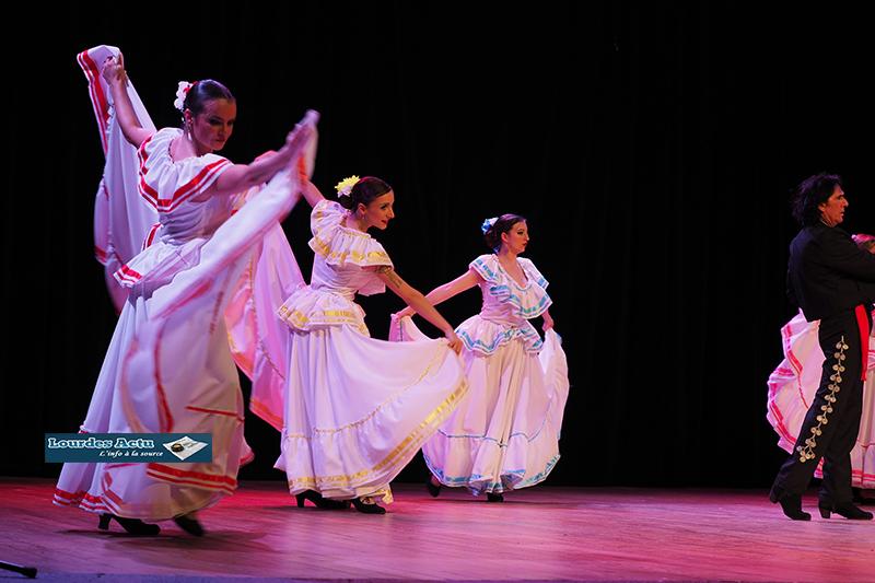 Lourdes a accueilli «España Mia» un spectacle haut en couleurs dans le cadre du 32ème Festival Ibéro-Andalou