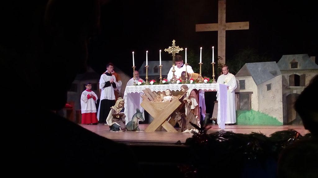 Lourdes : Plus 1200 personnes à la Messe des familles