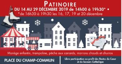 Lourdes : Ouverture des fêtes de Noël et inauguration de la patinoire le 14 décembre