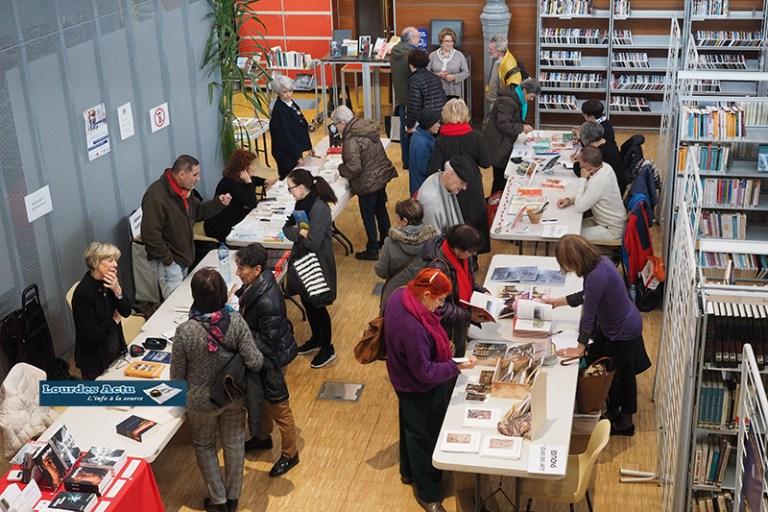 Read more about the article Lourdes : beau succès du 5ème Salon du livre Profane et Sacré