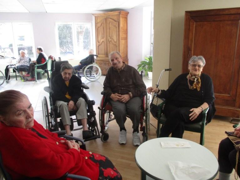 Lourdes : Chandeleur à la maison de retraite de Labastide