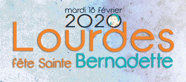 Read more about the article Programme de la journée du 18 février, Lourdes fête sainte Bernadette.