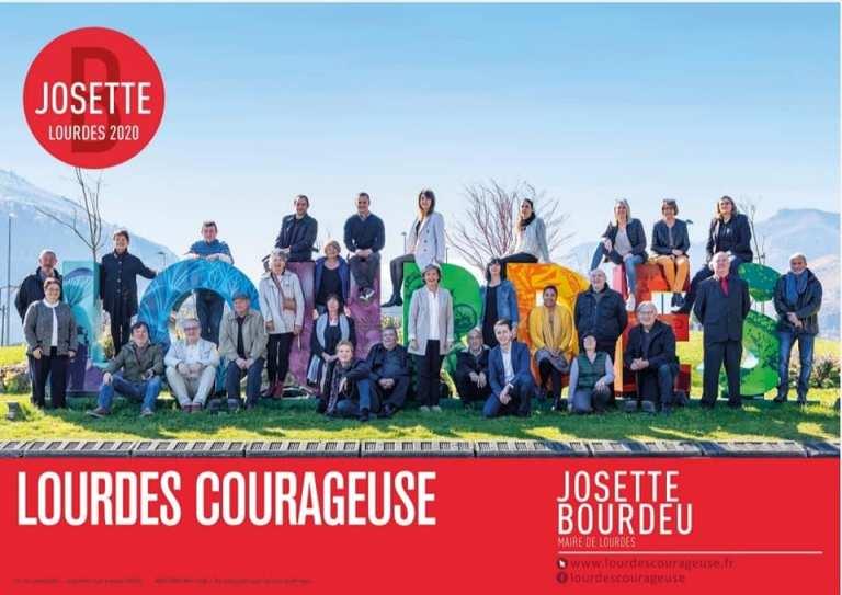 """Présentation de la liste """"Lourdes Courageuse"""" de Josette Bourdeu"""