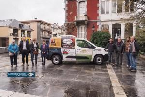 Lourdes : réception du véhicule frigorifique dédiée au portage des repas au CCAS