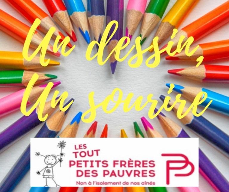 Read more about the article Communiqué des Petits Frères des Pauvres : Un dessin, un sourire !