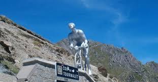 Une montée en toute discrétion pour le Géant du Tourmalet