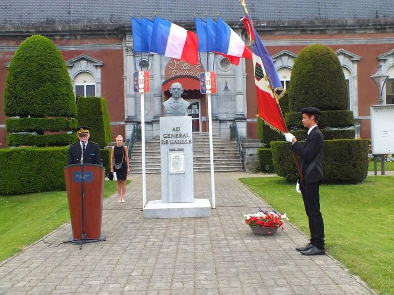 Lourdes : Cérémonie de la Commémoration de la victoire du 8 Mai 1945