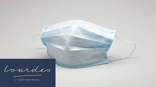 Lourdes : Communiqué de la Municipalité à propos de la distribution de masques solidaires aux aînés (changement de lieu)