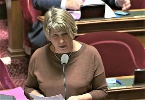 La Sénatrice Maryse CARRÈRE désignée par la Commission des Lois du Sénat comme rapporteure de la mission d'information sur les moyens d'action et les méthodes d'intervention de la police et de la gendarmerie