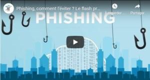 Vidéos d'information sur le phishing pour votre site et/ou vos réseaux sociaux