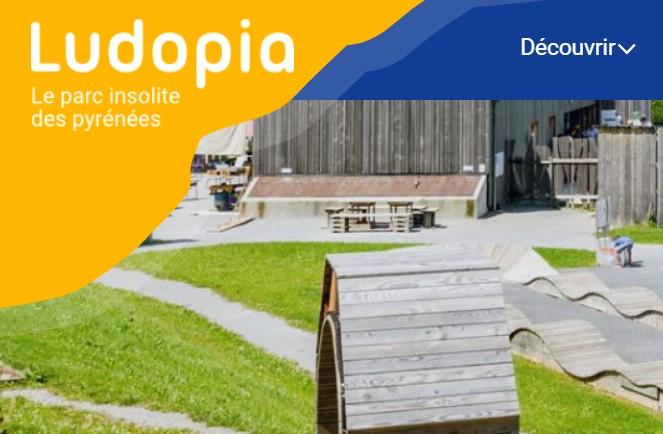 Ludopia : site internet et animations estivales en Vallée d'Aspe