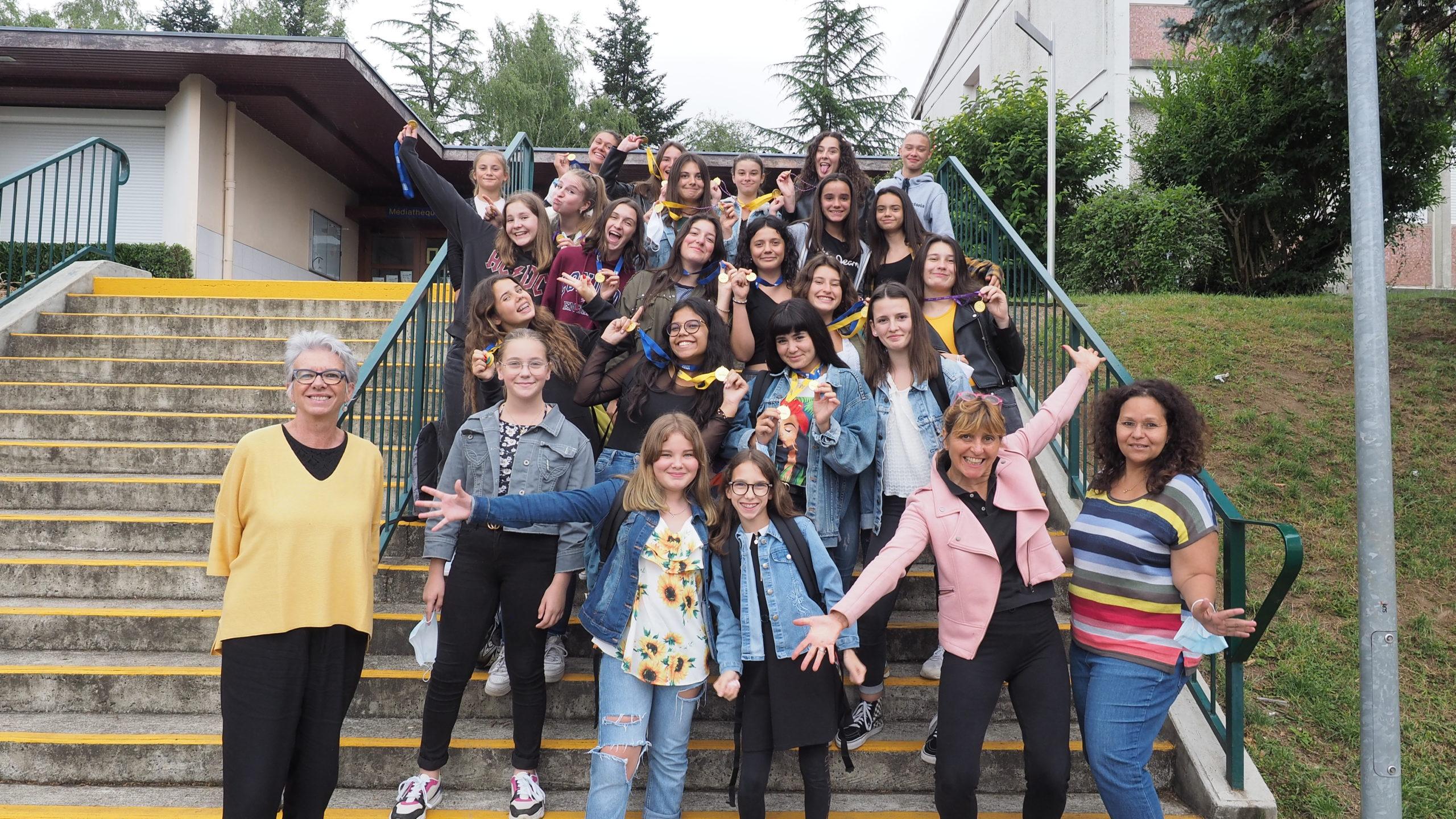 Lourdes : la Section sportive Danse du collège/lycée de Sarsan a été récompensée