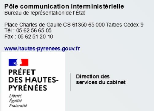Communiqué de la Préfecture : Sécurisation du 147ème pèlerinage de l'Assomption à Lourdes