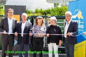 Arreau : Inauguration de l'une des premières armoires fibre optique très haut débit fibre
