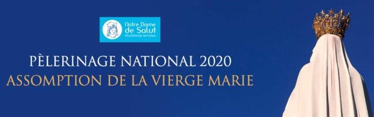 Lourdes : programme du Pèlerinage National 2020