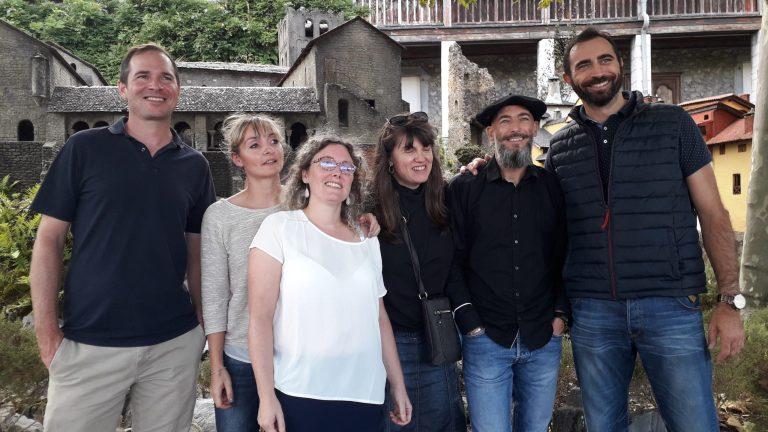 Le Château-fort a résonné de musique et chants traditionnels Gascons lors des Journées du Patrimoine