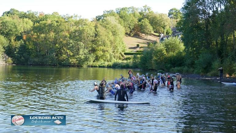 Beau succès du 2ème Triathlon de Lourdes