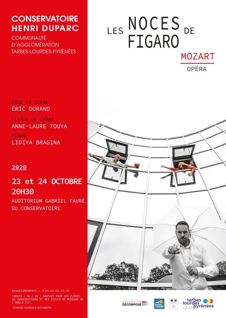 Read more about the article Tarbes : Les Noces de Figaro de W.A. MOZART « Un défi à relever » le 23 et 24 octobre