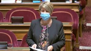 La Sénatrice Maryse CARRÈRE intervient au Sénat sur la prorogation de l'état d'urgence sanitaire