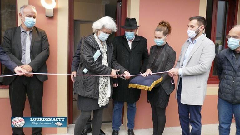 Inauguration du premier projet habitat financé par les partenaires d'Action Cœur de Ville