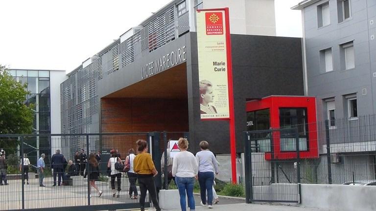 Tarbes : drame au Lycée Marie-Curie