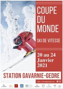 Suivez en direct la Coupe du Monde de Ski de Vitesse à Gavarnie-Gèdre 22 au 24 janvier