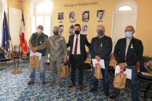 Remise de la Médaille Régionale, Départementale et Communale aux employés de la Ville de Lourdes