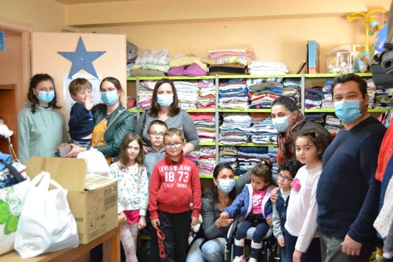 Read more about the article Lourdes : Un partenariat solidaire entre l'école de Soum, l'Etoile Bleue (SOS BEBES)