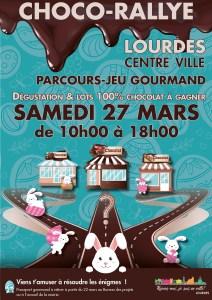 Choco-Rallye de la ville de Lourdes