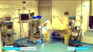 Tarbes : Reportage de France 3 sur le dépistage du cancer colorectal : interview de la Présidente de la Ligue 65 (une Lourdaise)