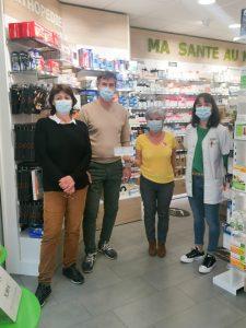 Les pharmaciens se mobilisent pour la Ligue à Luz St Sauveur