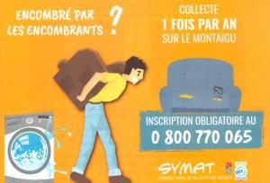 Read more about the article Dates de la Collecte des encombrants sur l'ex Communauté de Communes du Montaigu