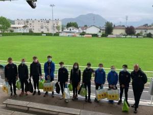 Read more about the article Corentin Lavieille éducateur U14 R a mis en place des projets dans le domaine Associatif / Educatif / Sportif dans le cadre de sa formation BMF