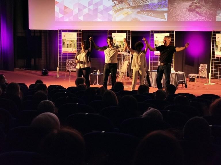 Elections départementales Canton de Lourdes 1 : Réunion publique de la liste «Une force pour un territoire d'équilibres» de Thierry Lavit et Evelyne Laborde