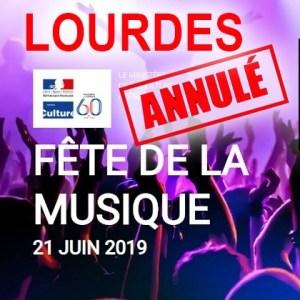 Pourquoi la fête de la musique 2021 est-elle annulée à Lourdes ?