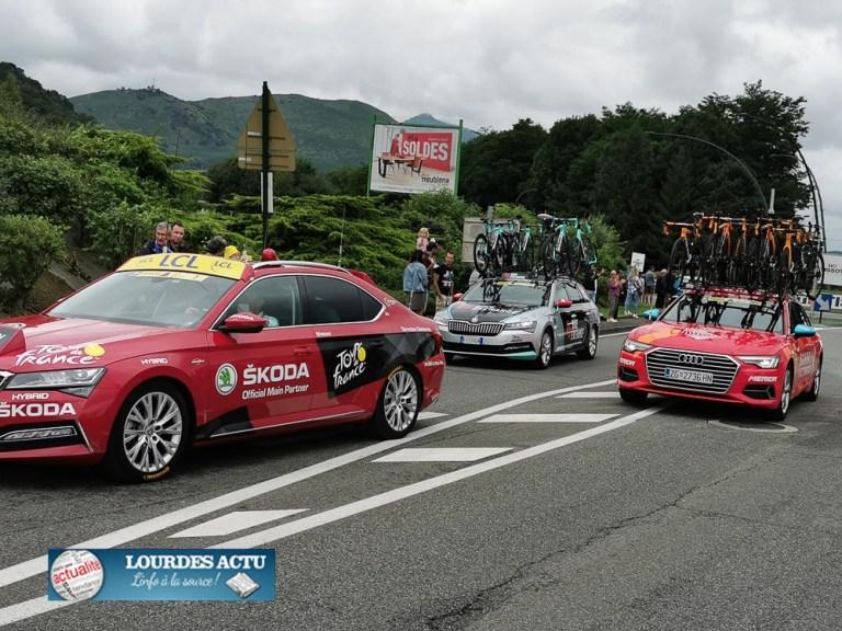 Read more about the article Lourdes : passage de la Caravane et des coureurs du Tour de France