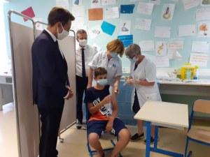 Succès pour l'opération de vaccination ouverte aux collégiens et lycéens à Lourdes