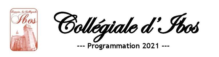 Read more about the article Programme 2021 à la Collégiale d'Ibos à partir du 17 juillet 2021