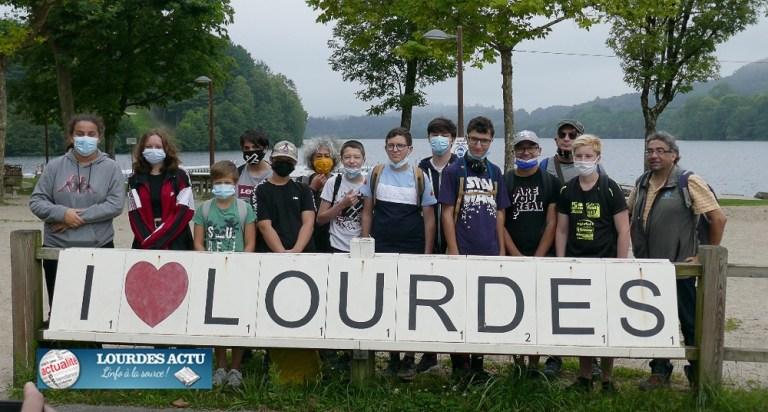 Read more about the article Lourdes : des ados en opération initiative écocitoyenne !
