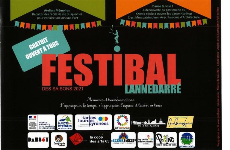 Read more about the article Lourdes : Animations «Festibal» dans les quartiers Ophite et Lannedarré de juillet à septembre