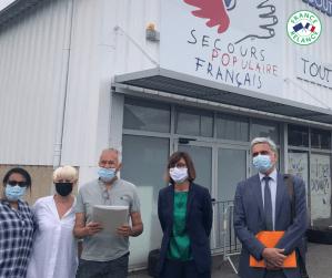 Read more about the article Tarbes : L'accueil de jour du Secours Populaire et L'accueil de jour «Café solidaire», lauréats de l'appel à projet de modernisation dans le cadre de France Relance