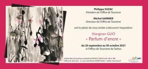Read more about the article Tarbes : Expo «Parfum d'encre» de Xiangnan GUO du 29 septembre au 30 octobre